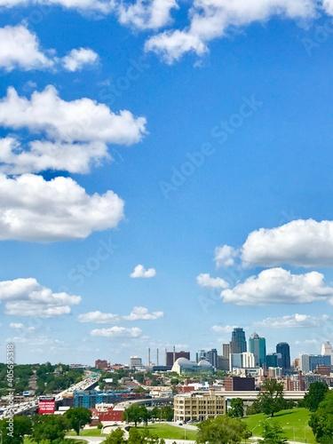 Obraz Buildings In City Against Sky - fototapety do salonu