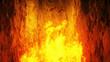 Leinwandbild Motiv Hell gates. hell fire. Devil portal. Sinner. Religious concept. 3d rendering.