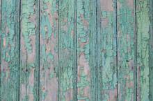 Old Peeling Paint. Wooden Boards. Vintage Wood Surface.