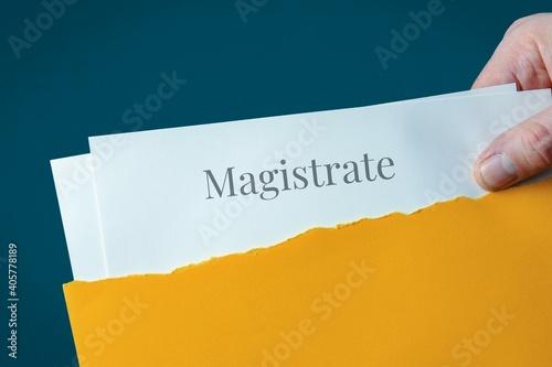 Magistrate Fototapet
