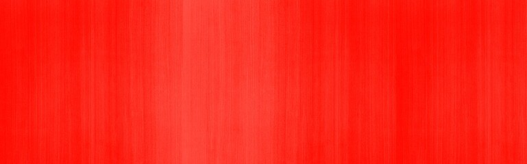 Panorama of Vintage red painted plywood wall texture and seamless background
