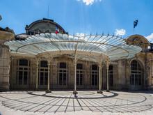 Véranda Art Déco à Vichy En France