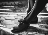 Fototapeta Na drzwi - chaussure homme mariage