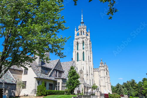 Fotografia Architecture of Kirk in the hills church in Bloomfield hills, Michigan