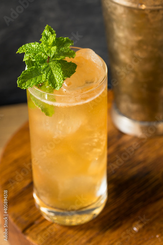 Boozy Alcoholic Suffering Bourbon Cocktail © Brent Hofacker