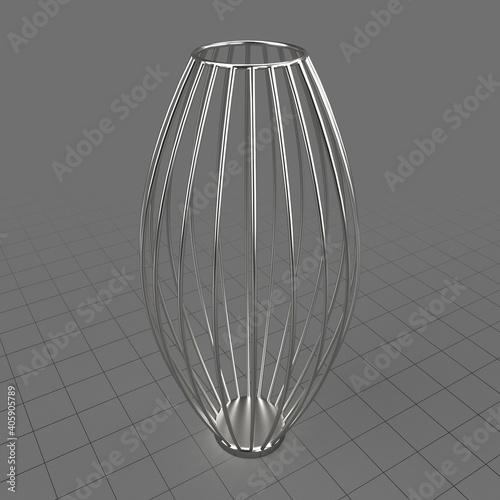 Obraz Wire vase - fototapety do salonu