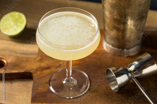 Boozy Refreshing Mezcal Illegal Cocktail © Brent Hofacker