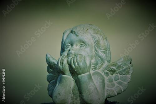 Obraz na plátně Angel photo art