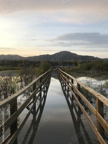 Photo Footbridge Against Sky
