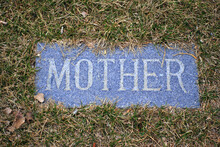 Mother Tombstone Outdoors.