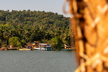 Landscape And Interiors From A Boathouse Drive In Charpora Goa. Exotic Tourism In Goa.