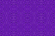 canvas print picture - Colored African fabric - Seamless pattern, illustration