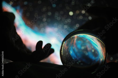 Foto Astrological background