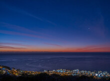 Blue Hour Over Sea Point