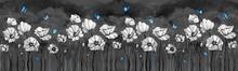 Dark Delicate Flowers