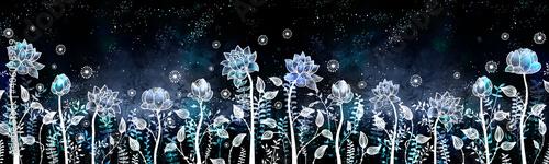 Fotografie, Obraz Fancy water lilies in light color