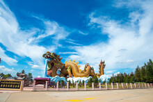 SUPHAN BURI, THAILAND - 9 AUG 2020: Dragon Descendants Museum In Suphab Buri ,Thailand