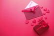 Leinwandbild Motiv Valentine Day Gift