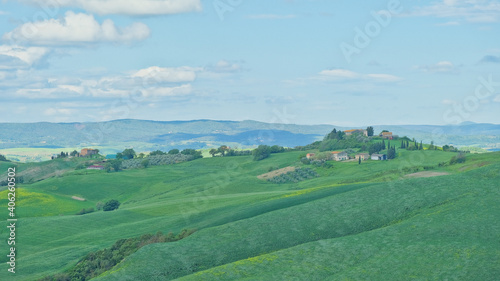 Fototapeta premium Scenic View Of Agricultural Field Against Sky