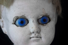 Close-up Of Old Spooky Doll
