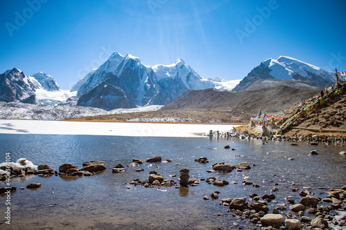 Fototapety, obrazy: gurudongmar lake