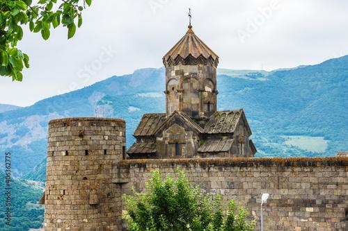 Fototapeta Tatev monastery in Goris , Armenia, a 9th-century Armenian Apostolic monastery