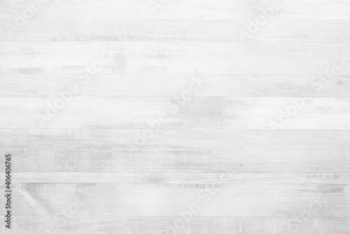 Obraz White Wooden Wall Texture Background. - fototapety do salonu