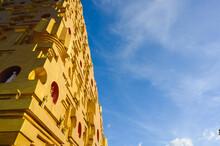 Phuthakaya Pagoda At Wat Wang Wiwekaram,Sangkhla Buri, Kanchanaburi, Thailand