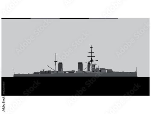 Fotografia, Obraz HMS Lion