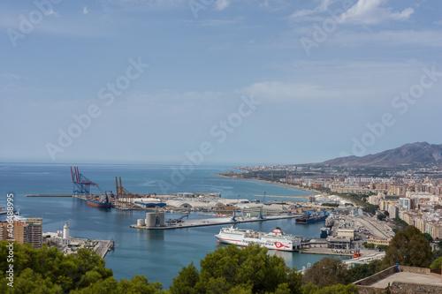 Puerto maritimo de Malaga