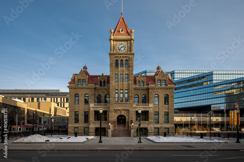Foto Calgary's old city hall.