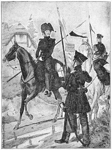 Fotografie, Obraz East Prussian National Cavalry Regiment (1813)