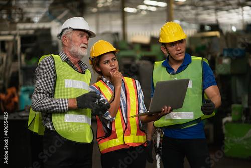 Technical team machine security system learning Fototapeta