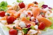 海鮮サラダ シーフード