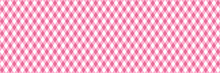Wide Pink Diagonal Stripes Seamless Vector Pattern
