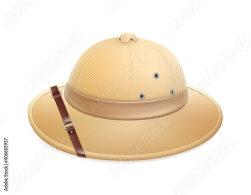 Canvas Beige safari hat