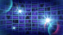 World Tv Show Background. News Backdrop, Shine Abstract Futuristic Space For Filming. Broadcast Channel Studio, Media Vector Illustration. Tv Channel News World Banner To Broadcast
