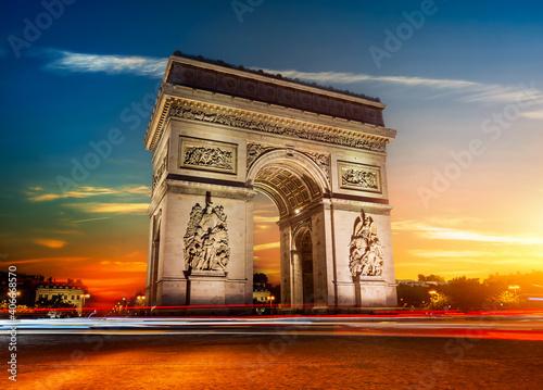 Papel de parede Arch in Paris