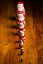 Traditional Wooden Christmas Decorations