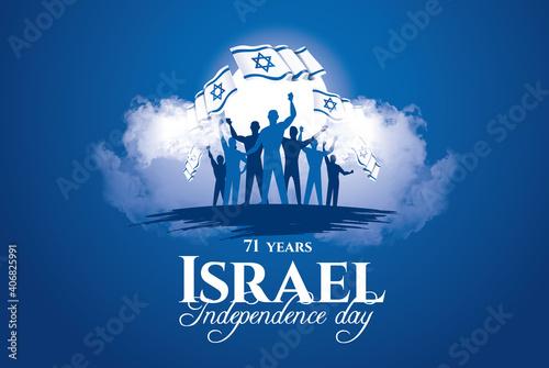 Israel Memorial Day holidays Wallpaper Mural