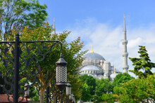 Sultanahmet Mosque (Blue Mosque) Grounds In Istanbul - Turkey
