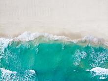 Drone Photo Playa Ballenas, Cancun, Mexico
