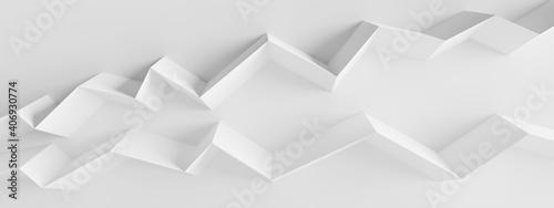 Obraz Modern Building Wallpaper. Art Graphic Design - fototapety do salonu