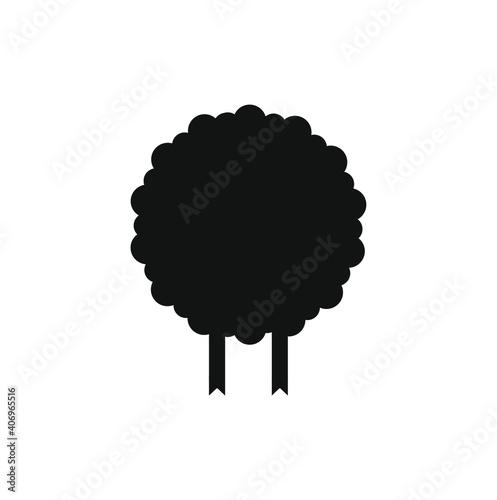 children's illustration of sheep on white background