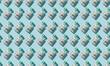 Leinwandbild Motiv Vaccine COVID 19 seamless photo pattern