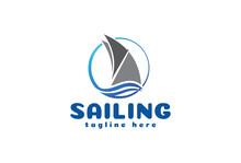 Sailboat Yacht Logo