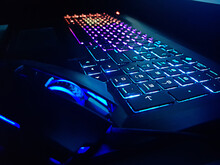 Keyboard And Mouse Gamer In Online Game