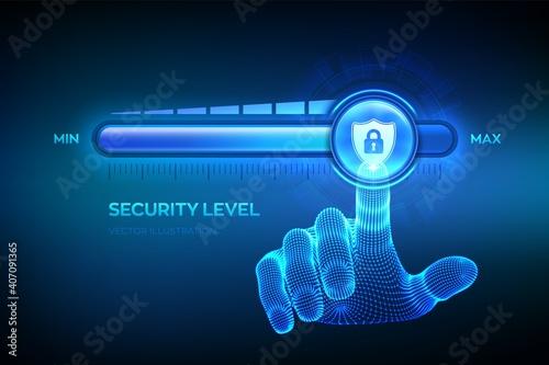 Fototapeta Increasing Security level