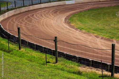 Canvastavla Speedway corner