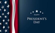 President's Day Background Design. Vector Illustration.